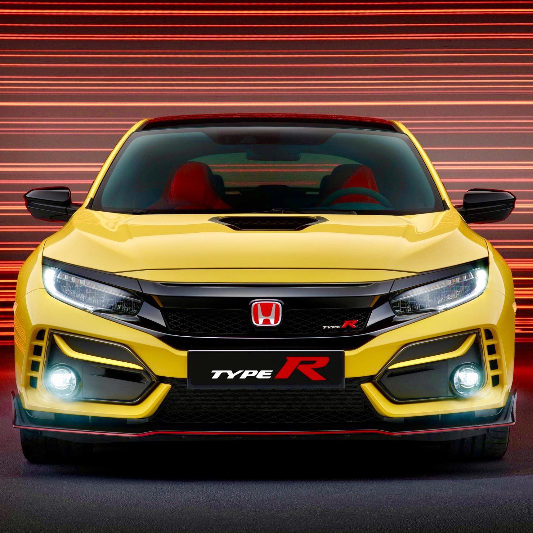2021 honda civic type r limited edition revealed • hype garage