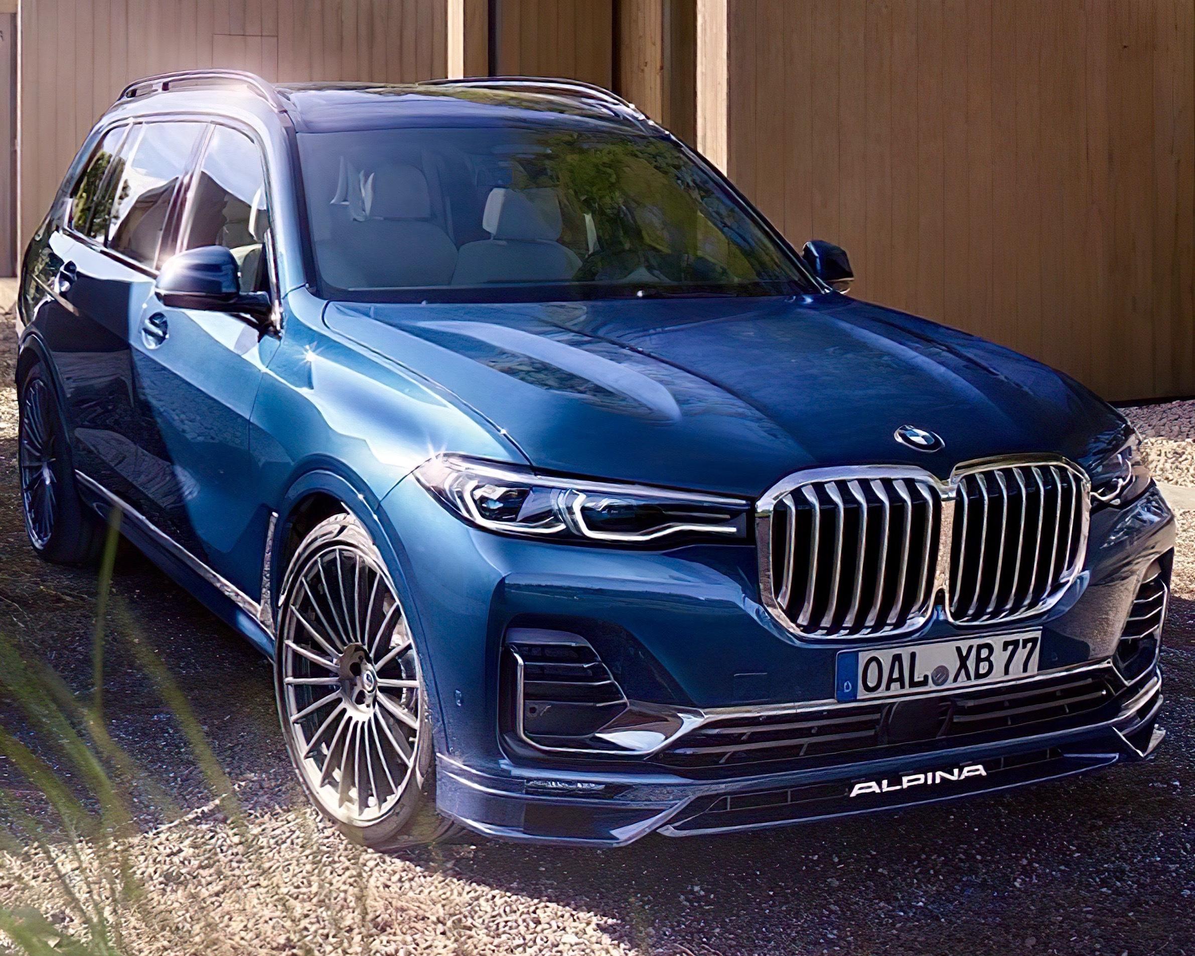 2021 BMW Alpina XB7 Revealed with 621 Horsepower • Hype Garage