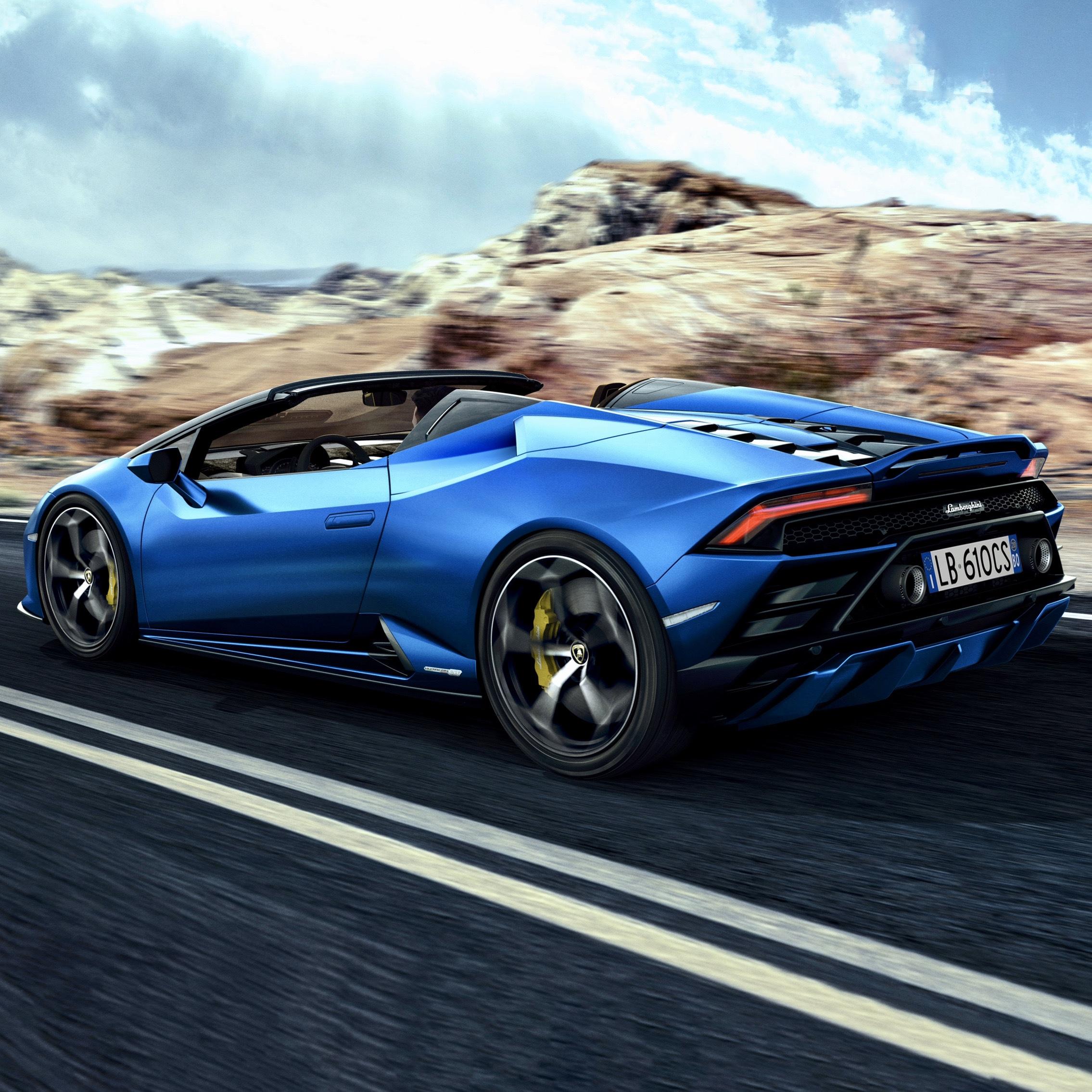 Lamborghini Reveals New Huracan EVO RWD Spyder • Hype Garage